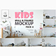 Kids Wall & Frames Mockup Pack - 4 - GraphicRiver Item for Sale
