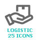 Logistic & Delivery Mini Icon - GraphicRiver Item for Sale