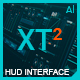 Futuristic HUD Interface XT2: Sci-Fi UI Elements - GraphicRiver Item for Sale