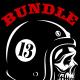 Vintage Biker Skulls Pack - GraphicRiver Item for Sale