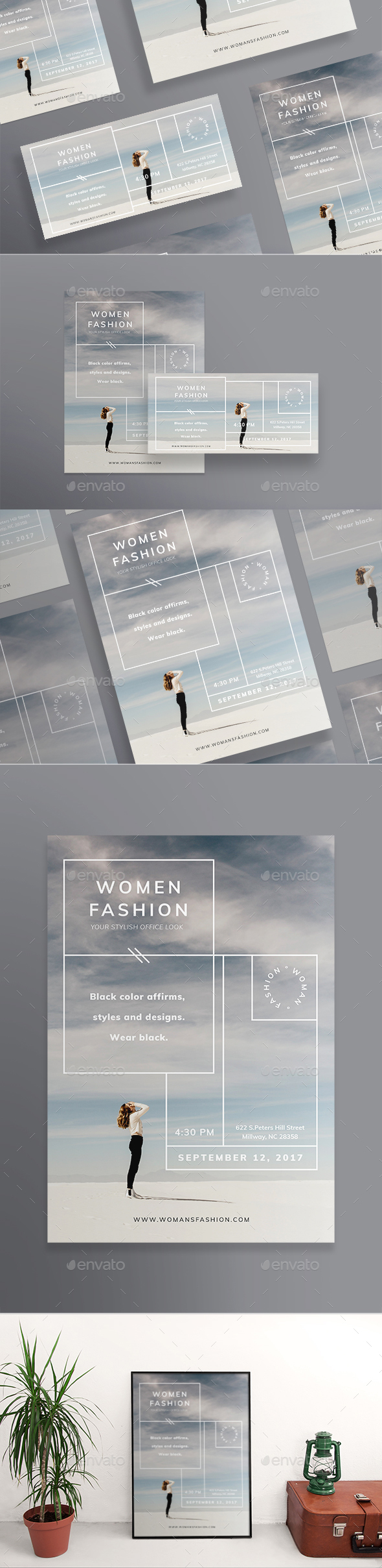 Women Fashion Flyers - Miscellaneous Events