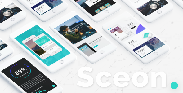 Image of Sceon - A Theme for Apps and Startups