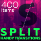 Split Handy Transitions - VideoHive Item for Sale