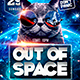 Out of Space Flyer Template - GraphicRiver Item for Sale