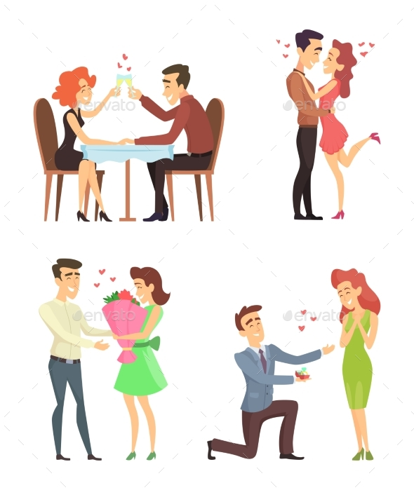 Lovely Couples.  - People Characters