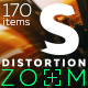 Distortion Zoom Transitions - VideoHive Item for Sale