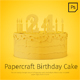 Papercraft Birthday Cake - GraphicRiver Item for Sale