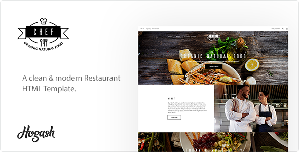 Image of Restaurant Chef | Restaurant HTML Template