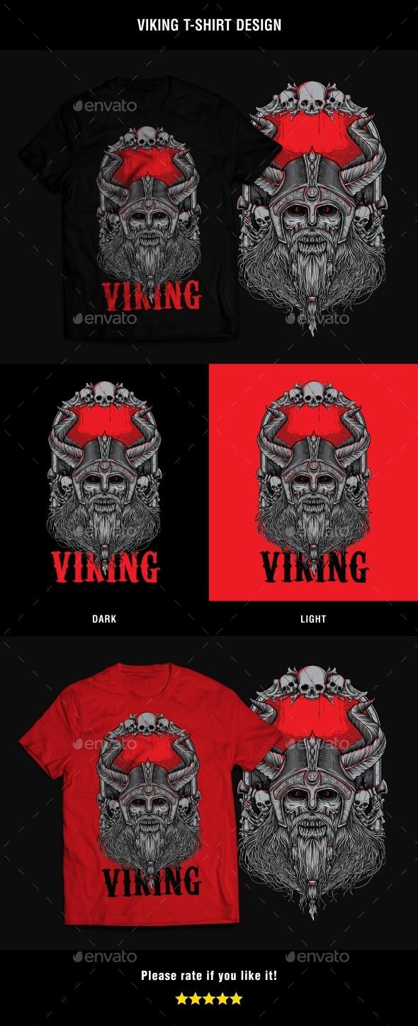Viking v2 T-Shirt Design - T-Shirts