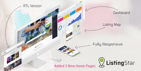 Listingstar - Directory & Listings HTML Template - Business Corporate