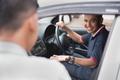 driver welcoming his customer - PhotoDune Item for Sale