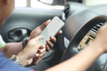 customer ordering taxi via online apps - PhotoDune Item for Sale