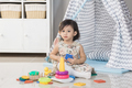 toddler play with toys at home - PhotoDune Item for Sale
