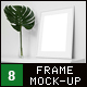Frame Mock-Up Home Style - GraphicRiver Item for Sale