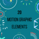 20 Motion Graphic Elements - VideoHive Item for Sale