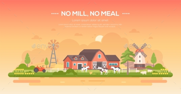 No Mill No Meal - Buildings Objects