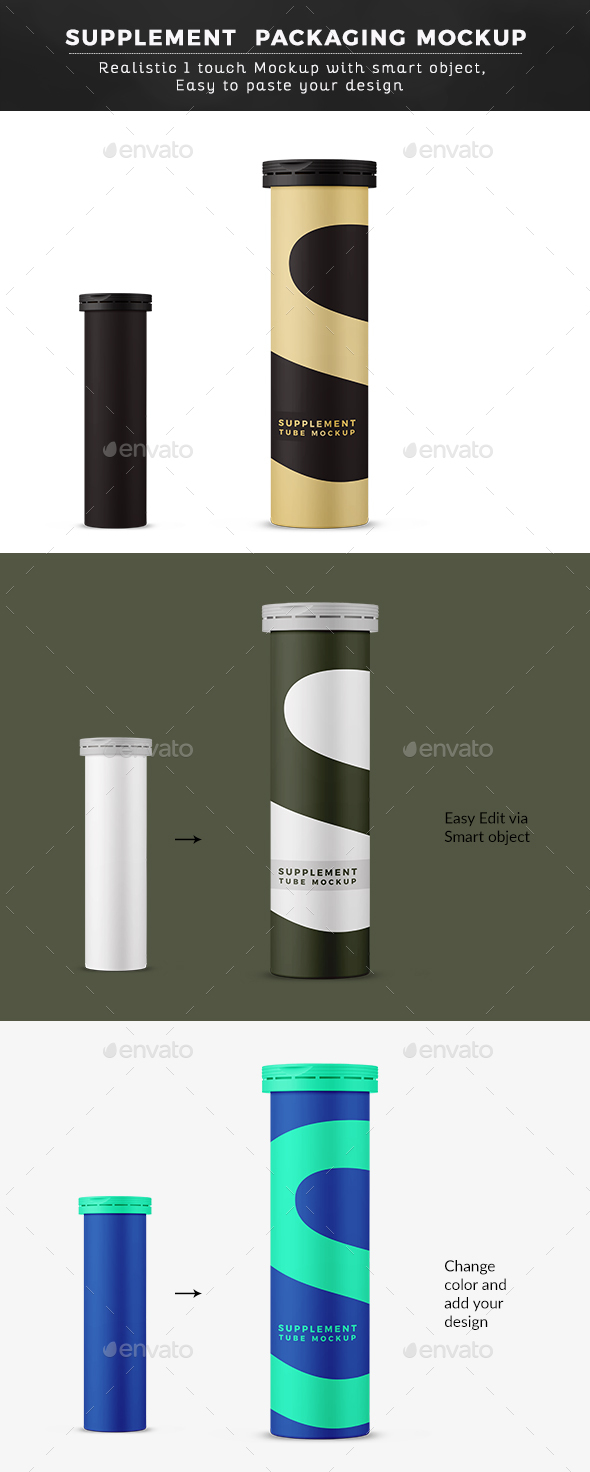 Matt Cylindrical Tube Mock up - Miscellaneous Packaging