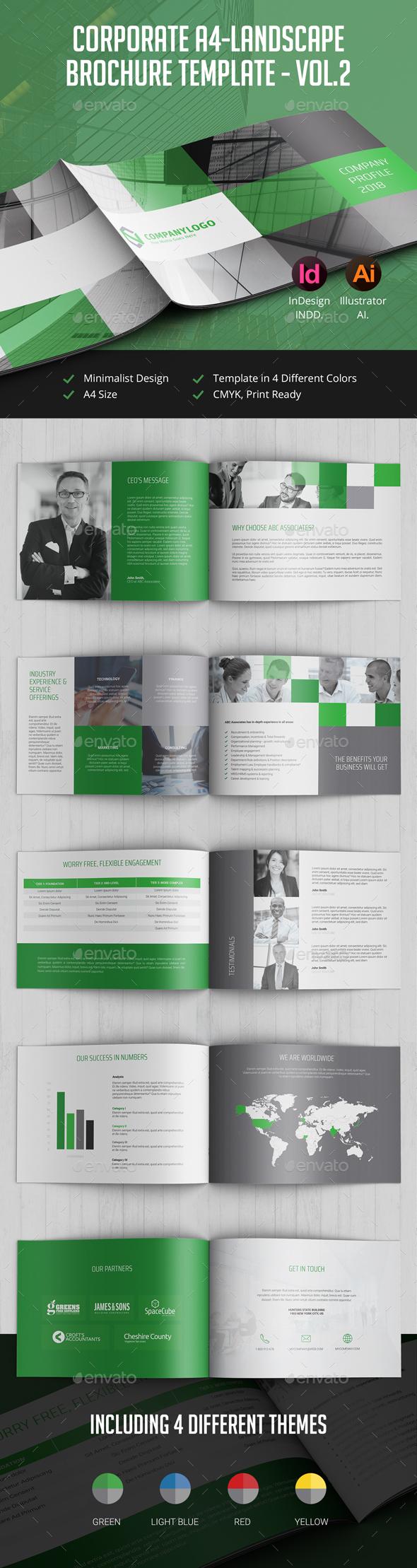 Corporate Landscape Brochure vol.2 - Corporate Brochures