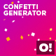 Confetti Generator - VideoHive Item for Sale