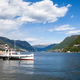 Como city and lake near Milan in Italy - PhotoDune Item for Sale