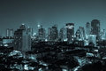 Bangkok aerial skyline view at night in Thailand - PhotoDune Item for Sale