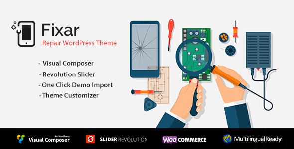 Image of Fixar - Phone & Computer Repair Theme