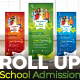 School Roll Up Banner - GraphicRiver Item for Sale
