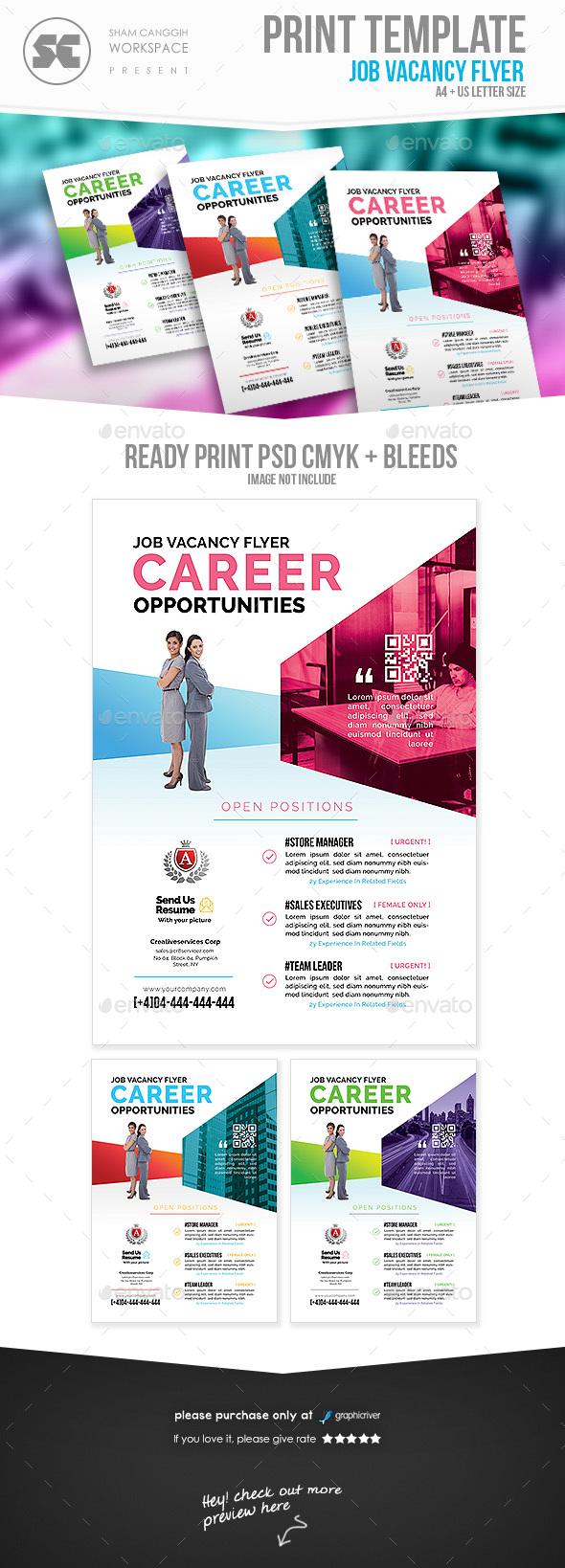 Career Recruitment Flyer - Corporate Flyers