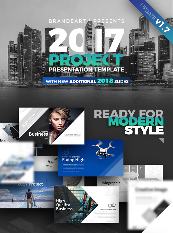 Project Presentation Template By Brandearth  Graphicriver