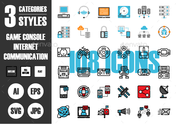 108 Pixel Perfect Icons Vol.1 - Technology Icons