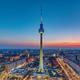 The Berlin skyline after sunset - PhotoDune Item for Sale