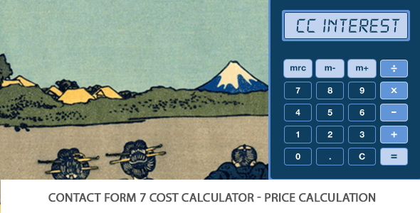 CF7 Cost Calculator - Price Calculation (Add-on For CF7) - CodeCanyon Item for Sale