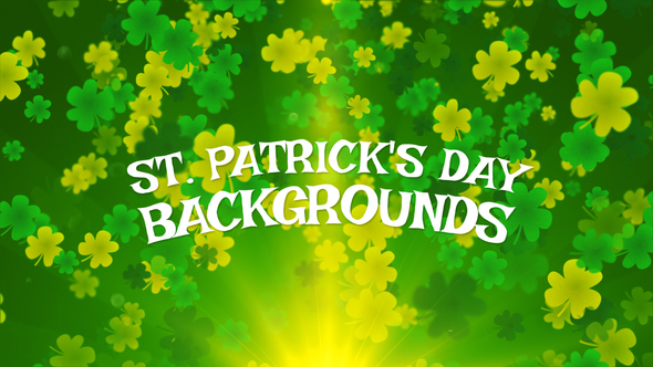 st patrick s day background by mediagiraffe videohive