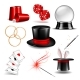 Magician Symbol Set - GraphicRiver Item for Sale