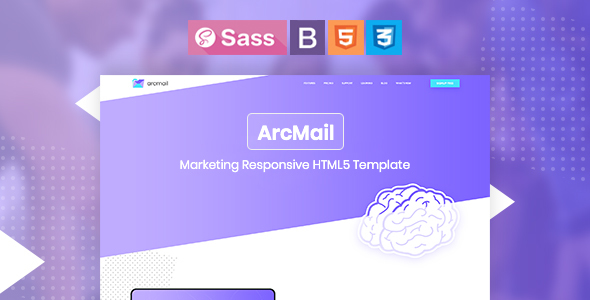 Arcmail - Marketing Responsive HTML5 Template