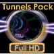 VJ Pack Tunnels Flights - VideoHive Item for Sale
