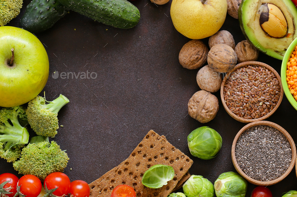 Vegetarian Food Products - Stock Photo - Images