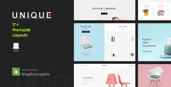 Image of Unique - Minimal, Clean Shopify Theme