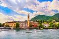 Cernobbio town, Como Lake district landscape. Italy, Europe. - PhotoDune Item for Sale