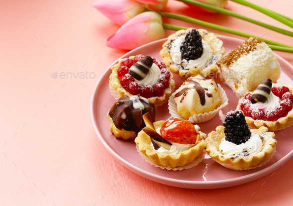 Mini Dessert - Stock Photo - Images