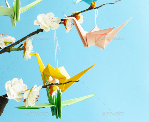 Origami - Stock Photo - Images