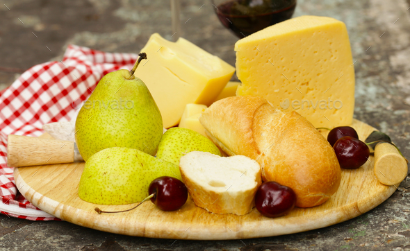 Cheese Plate - Stock Photo - Images