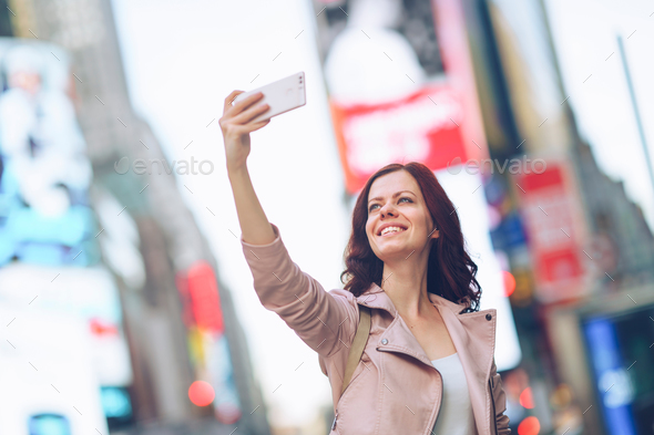 Travelling woman - Stock Photo - Images