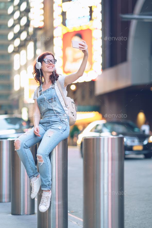 Selfie - Stock Photo - Images