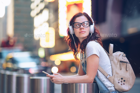 Attractive girl - Stock Photo - Images