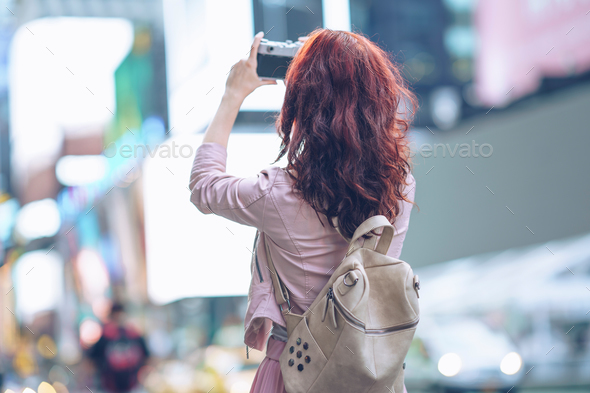 Traveling girl - Stock Photo - Images