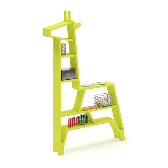 Giraffe Shape Shelf - 3DOcean Item for Sale