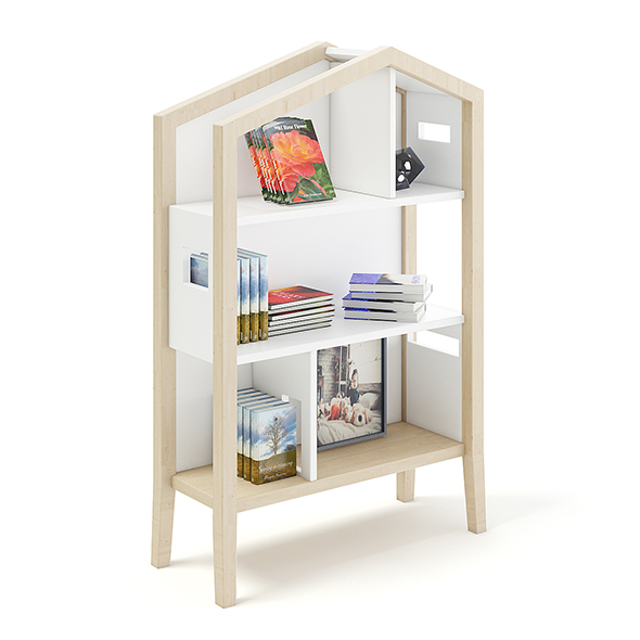 House Shape Shelf - 3DOcean Item for Sale