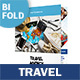 Travel Agency Bifold / Halffold Brochure 3 - GraphicRiver Item for Sale