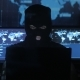 Dangerous Hacker in the Mask Tries To Enter the System Using Codes and Numbers To Find Out the - VideoHive Item for Sale